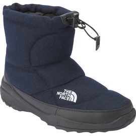 THE NORTH FACE - Nuptse Bootie Wool Short Navy