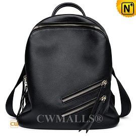 CWMALLS - CWMALLS® Designer Leather Travel Backpack CW207005