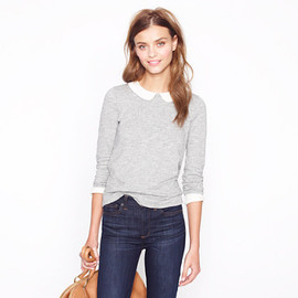 J.CREW - Peter Pan collar tee
