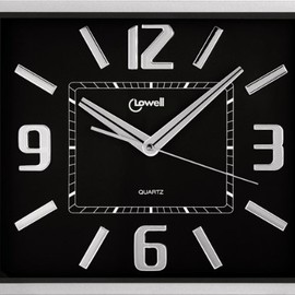 LOWELL - LOWELL 掛時計 Design Wall Clock Art.00604N