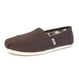 TOMS - Chocolate Canvas Women's Classic
