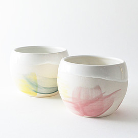 studio joo BY ELAINE TIAN - SET OF 2 Spring tumblers - made to order