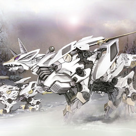 TAKARA TOMY - ZOID MIRAGE FOX
