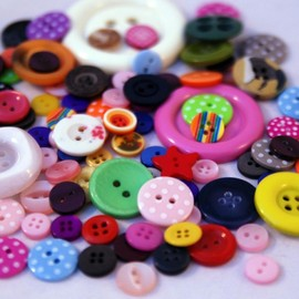 Luulla - Button Bag- 50g Mix of Exciting Buttons.