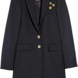 Mulberry - Pin badge-embellished wool-blend coat 12012/SS
