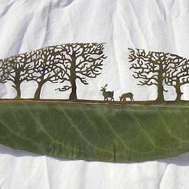 Leaf Cut Art