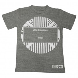 Atoms for peace - LABEL GREY MENS T-SHIRT