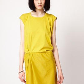 Surface To Air Jersey & Cotton Dress - Image 1 ofSurface To Air Jersey & Cotton Dress