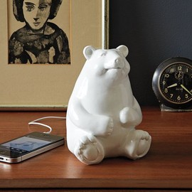 West Elm - Ceramic Bear Speaker