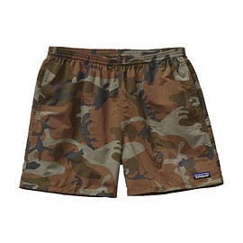 "patagonia - Men\'s Baggies Shorts 5"" - Forest Camo: Hickory"