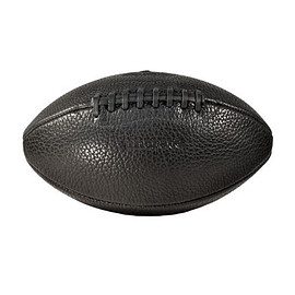 Leather Head, Uncrate - Bison Football - Black