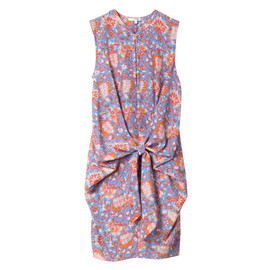 CARVEN - FLORAL PRINT KNIT DRESS