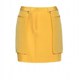 3.1 Phillip Lim - PLEATED OVERLAY SKIRT