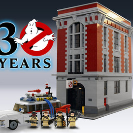 LEGO CUUSOO - Ghostbusters 30th Anniversary
