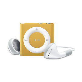 Apple - iPod shuffle 2GB (Orange)