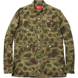 Supreme - Poplin Camo Safari Shirt