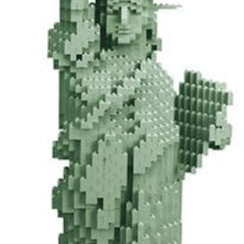 LEGO - 3450 Statue of Liberty