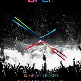 "BUMP OF CHICKEN - BUMP OF CHICKEN STADIUM TOUR 2016 ""BFLY""NISSAN STADIUM 2016/7/16,17 初回限定盤[Blu-ray Disc+LIVE CD]"