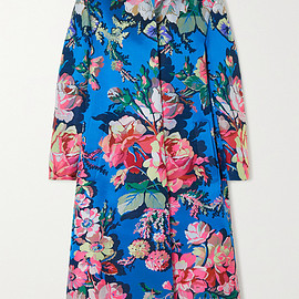 DRIES VAN NOTEN - Ruberta floral-jacquard coat