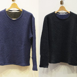JULIEN DAVID - KNITTED L/S T-SHIRT