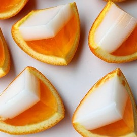 Candy Corn Jello Shots!