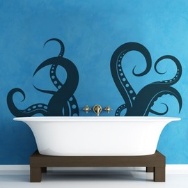 Stickerbrand - Vinyl Wall Decal Sticker - Tentacle