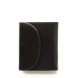 Whitehouse Cox - S1058 SMALL 3FOLD WALLET/Black×Red Vintage Bridle