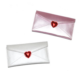 lipstick graphic / mask & tissue pouch
