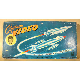 Milton Bradley Company  - Captain Video, An Exciting Space Game