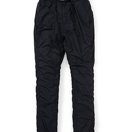 nonnative - COACH EASY PANTS NYLON TAFFETA ACRYL COATED