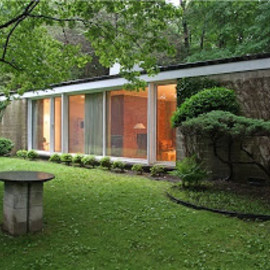 Philip Johnson - Damora House (first Philip Johnson's House)