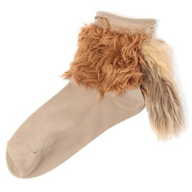 Candy stripper - SQUIRREL TAIL SHORT SOCKS,SKUNK TAIL SHORT SOCKS