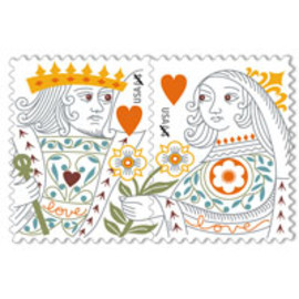 USPS - Love: King and Queen of Hearts