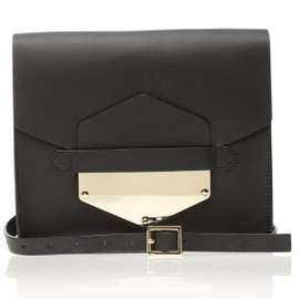 Sophie Hulme - Arrow Tab Clutch Bag by SOPHIE HULME