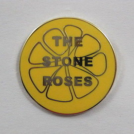 Stone Roses 'Lemon' Enamel Badge