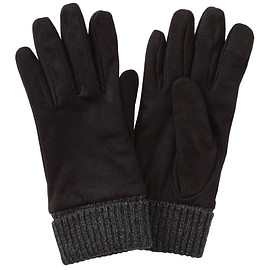 Muji - Water Repellent Brushed Touchscreen Gloves