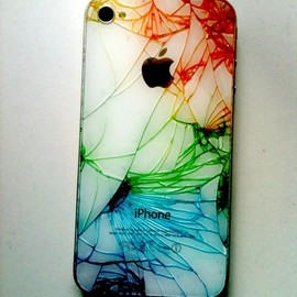 paige scott - Broken iPhone