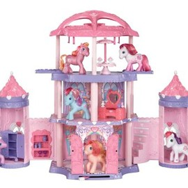 My little pony - My Little Pony Crystal Rainbow Castle