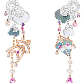 Van Cleef & Arpels - Cerf-volant, Earrings