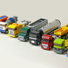 LEGO®, CUUSOO - Tiny Trucks Design