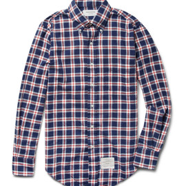 THOM BROWNE - Flannel Shirt