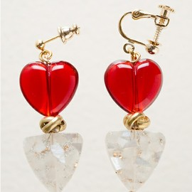 mother - mother(マザー)のYOUR HEART EARRING(イヤリング)|レッド