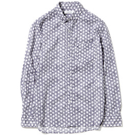 nonnative - DWELLER B.D. SHIRT - COTTON LAWN by LIBERTY