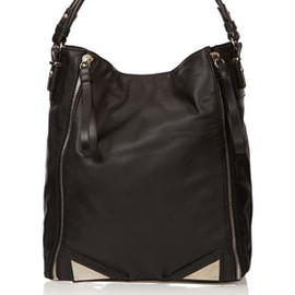 TOPSHOP - Tri Hardware Double Zip Tote