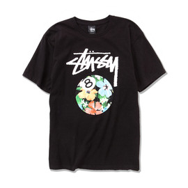 Stussy - 8Ball Flower T