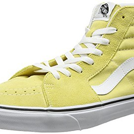 Vans - Unisex Adults' SK8-Hi Trainers, Yellow (Dusky Citron/True White), 6.5 UK 40 EU