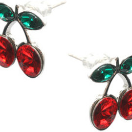 Pacha - Pacha Cherry Stud Earrings