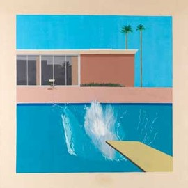 David Hockney - ポスター:A Bigger Splash, 1967