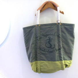 THE SUPERIOR LABOR - 【THE SUPERIOR LABOR】SL018/Beach Bag (GREEN)