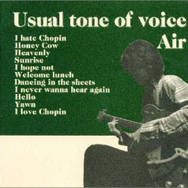 AIR - Usual tone of voice